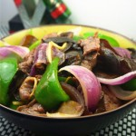 木耳圓椒洋蔥炒牛肉