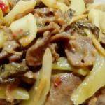 酸菜炒牛肉