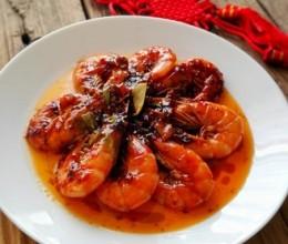 油焖大虾-宴客菜