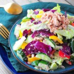 金枪鱼蔬菜沙拉