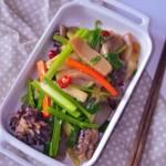 泡姜炒鸡胗魔芋