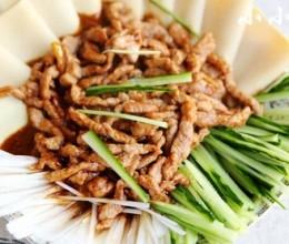 京酱肉丝,搭配什么主食都好吃