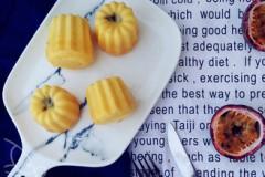 水果清香之夹心百香果小蛋糕