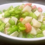 火腿豆瓣炒杏鲍菇