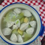 猪肉丸蒲瓜汤