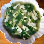 薺菜豆腐湯