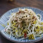 麻汁豆芽菜