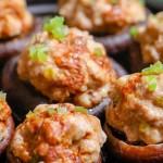 六月鲜花菇酿肉