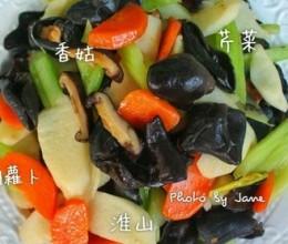 木耳炒杂蔬