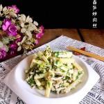 荠菜春笋炒肉丝