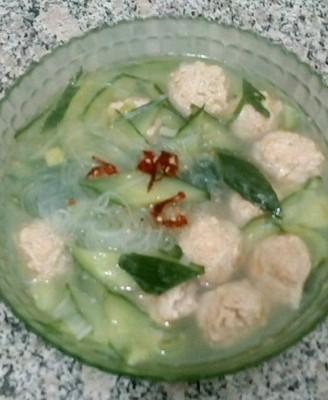 瓜片丸子汤