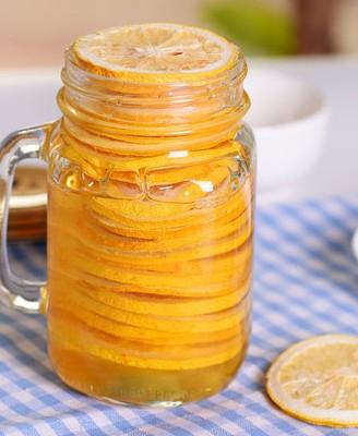 阳光满满的蜂蜜柠檬
