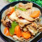 胡蘿卜燒公雞