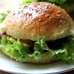 自制牛肉汉堡
