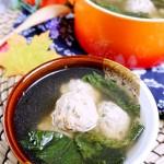 白菜丸子汤