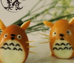 萌翻的龙猫卤蛋