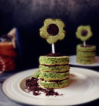 菠菜小蛋糕