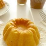 淡奶油橙汁小蛋糕