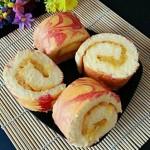 菠萝果酱蛋糕卷
