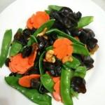 荷兰豆炒腰果