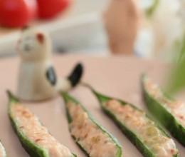 秋葵鸡肉卷  宝宝健康食谱