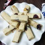 椰粉蔓越莓牛轧糖