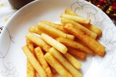 油炸土豆条---土豆泥版