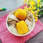 玉米淮山筒骨汤