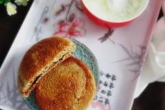 褐麦粉红糖饼