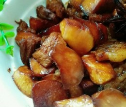 杏鲍菇烧肉