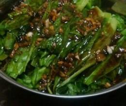蒜蓉蚝油油麦菜