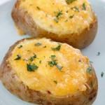 鸡蛋培根烤土豆