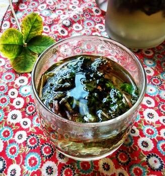 蒲公英茶水
