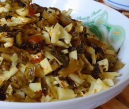 春笋炒酸菜