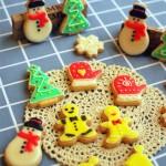 圣诞糖霜饼干#九阳#