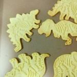 恐龙卡通饼干