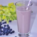 蓝莓豆奶昔#九阳#