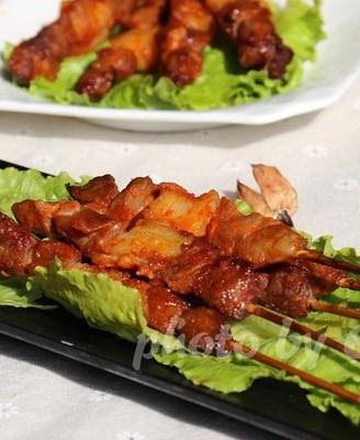 冬季必吃--烤羊肉串