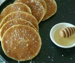 蜂蜜椰奶松饼