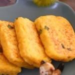 三文鱼米饼  宝宝健康食谱
