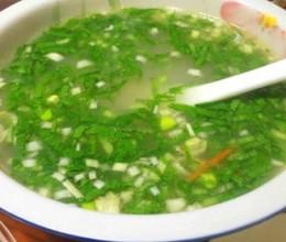 牛骨青菜汤