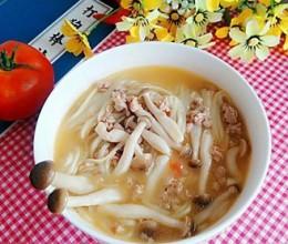 蟹味菇番茄荞麦面