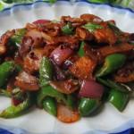 青椒洋葱炒肉