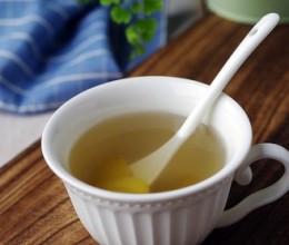 生姜蜂蜜水