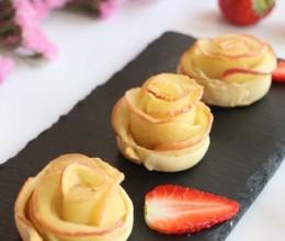烤苹果玫瑰花