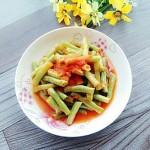 茄汁烩白豆角