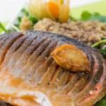 三文鱼藜麦沙拉