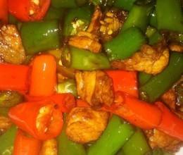 朝天椒炒肉