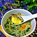 野菜海鲜蛋羹