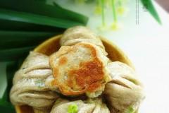褐麦粉水煎花卷